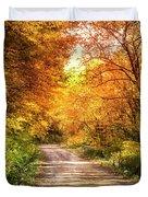 Beautiful Fall Day Duvet Cover