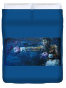 Beautiful Fighter Duvet Cover
