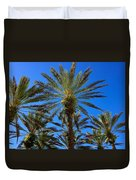 Beautiful Florida Palm Trees Duvet Cover
