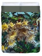 Beautiful Flowers In A Group Duvet Cover