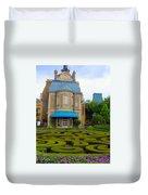 Beautiful Garden At France Pavilion Duvet Cover