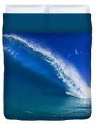 Beautiful Glassy Wave Duvet Cover