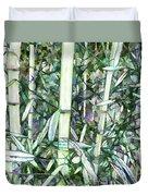 Beautiful Green Leaf Bamboo Duvet Cover