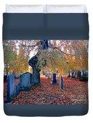 Beautiful Historic Camp Hill Cemetery Halifax Nova Scotia Duvet Cover