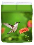 Beautiful Hummingbird Duvet Cover