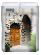 Beautiful Italian Doorway Duvet Cover
