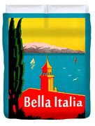 Beautiful Italy, Lake Garda, Riviera Duvet Cover