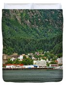 Beautiful Juneau Alaska Duvet Cover