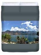Beautiful Lake Atitlan Duvet Cover