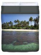 Beautiful Lanai Beach Duvet Cover