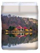 Beautiful Landscape Near Lake Lure North Carolina Duvet Cover