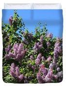 Beautiful Lilacs Day Duvet Cover