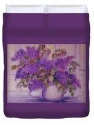 Beautiful Lilacs Duvet Cover