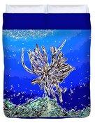 Beautiful Marine Plants 1 Duvet Cover