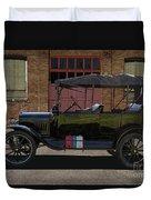 Beautiful Model T Touring Car Duvet Cover
