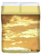 Beautiful Morming Sky  Duvet Cover