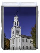 Beautiful Old First Church Duvet Cover
