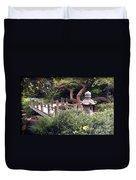Beautiful Park In San Francisco Duvet Cover