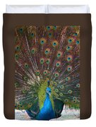 Beautiful Peacock Duvet Cover