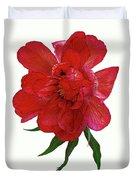 Beautiful Peony Flower. Duvet Cover
