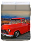 Beautiful Pick Up Truck Duvet Cover