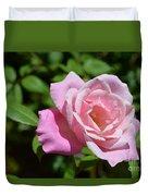 Beautiful Pink Rose Duvet Cover