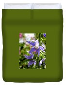 Tall Bellflower Duvet Cover