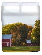 Beautiful Red Barn 3 Duvet Cover