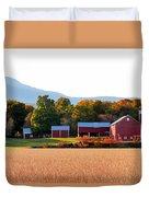 Beautiful Red Barn 4 Duvet Cover