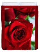 Beautiful Red Rose Abstract 3 Duvet Cover