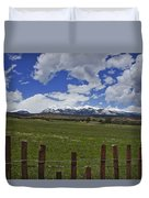 Beautiful Rocky Mountains Duvet Cover