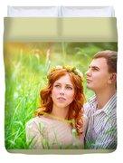 Beautiful Romantic Couple Duvet Cover