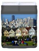 Beautiful San Francisco Duvet Cover