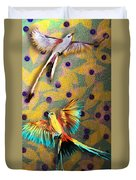Beautiful Scissor-tailed Flycatchers Duvet Cover