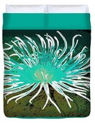 Beautiful Sea Anemone 2 Duvet Cover by Lanjee Chee