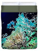Beautiful Sea Fan Coral 1 Duvet Cover by Lanjee Chee