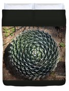 Beautiful Spiked Ball Plant Duvet Cover