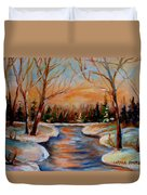 Beautiful  Spring Thaw Duvet Cover