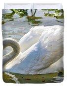 Beautiful Swan Duvet Cover