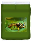 Beautiful Syrphid Duvet Cover