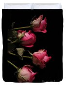 Beautiful Two Tone Roses 4 Duvet Cover