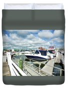 Beautiful View On The Elizabeth 7 Duvet Cover by Lanjee Chee