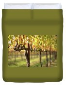 Beautiful Vineyard In Napa Valley Duvet Cover