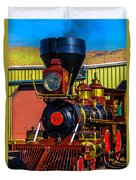 Beautiful Virgina And Truckee Steam Train Duvet Cover