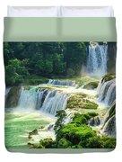Beautiful Waterfall Crystal Waters Duvet Cover