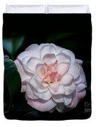 Beautiful White Camellia Duvet Cover