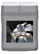 Beautiful White Day Lily Duvet Cover