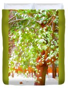 Beautiful Winter Tree Duvet Cover