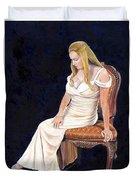 Beautiful Woman Duvet Cover
