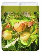 Beautiful Yellow Apple Duvet Cover